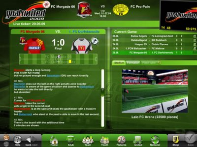 Goalunited Online